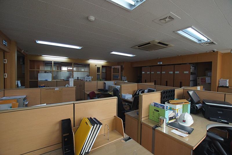 삼성동 건설사에서 사용중인 인테리어 사무실임대