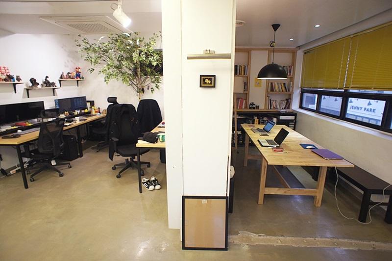 양재동 양재천길 디자인 사무실로 적합