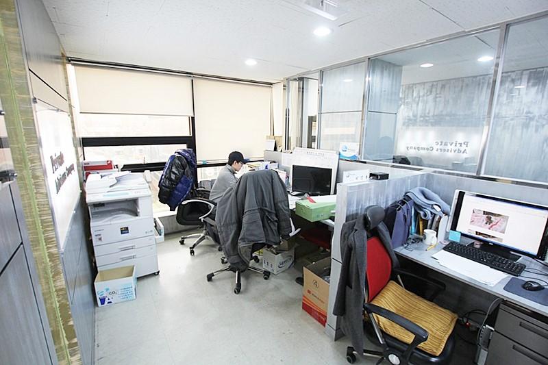 대치동 룸많은 인테리어 사무실임대