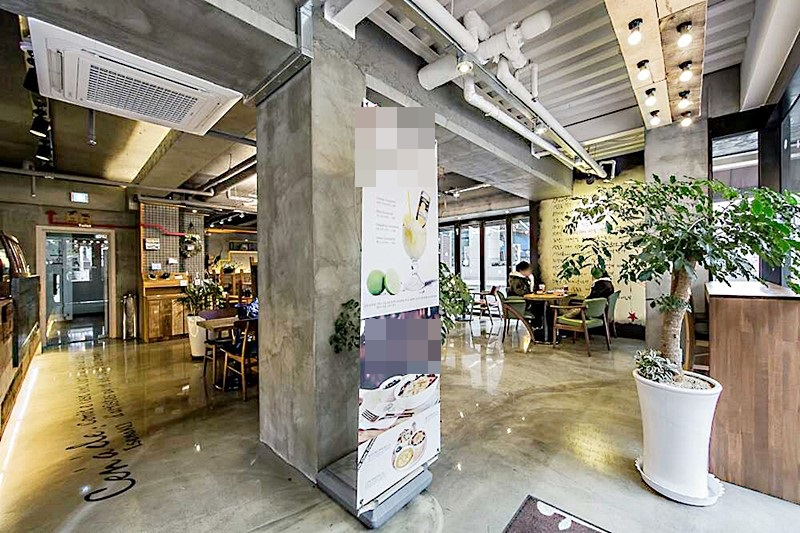 삼성동 먹자라인 인테리어 훌륭한 1층 카페임대