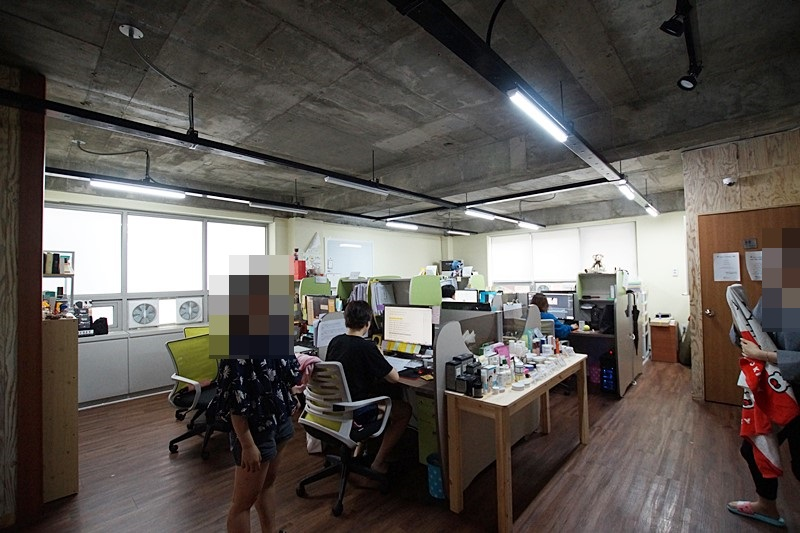 역삼동 인테리어 사무실임대 아담한 노출컨셉의 공간