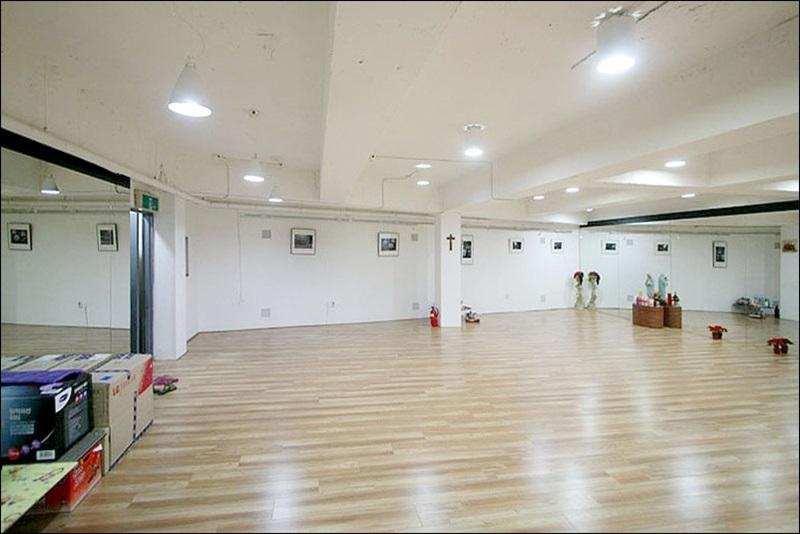 역삼동 댄스연습실 인테리어 풀셋팅 임대현장