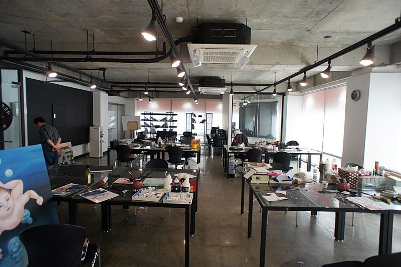 신사동 노출컨셉 디자인사무실임대 통자구조