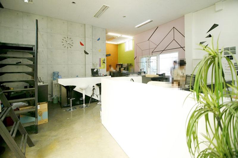 대치동 복층사무실 테라스와 전용옥상사용