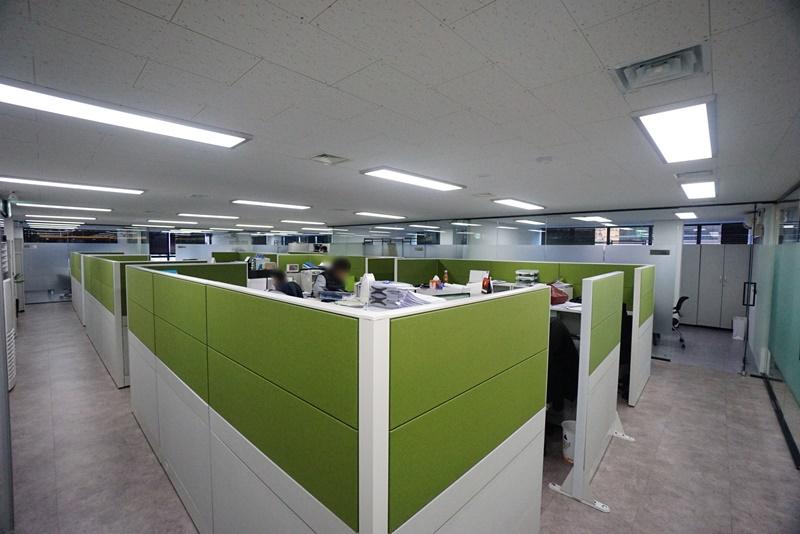 삼성동 룸7개에 인포까지 있는 인테리어 사무실임대
