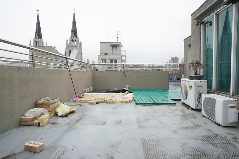 역삼동 주거형사무실임대 옥상전용사용하는..